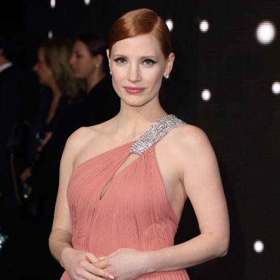 Jessica Chastain Interstellar Premiere Dress
