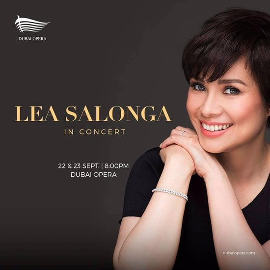 Lea Salonga at The Dubai Opera