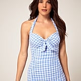 We like to think Dorothy Gale herself would have worn this gingham one-piece to the beach.  Seafolly Sophia Gingham One-Piece Suit ($165)