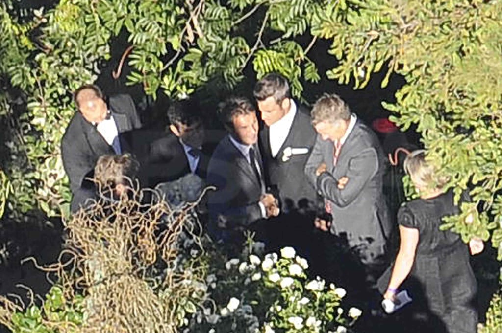 Pictures of Robbie Williams Wedding To Ayda Field