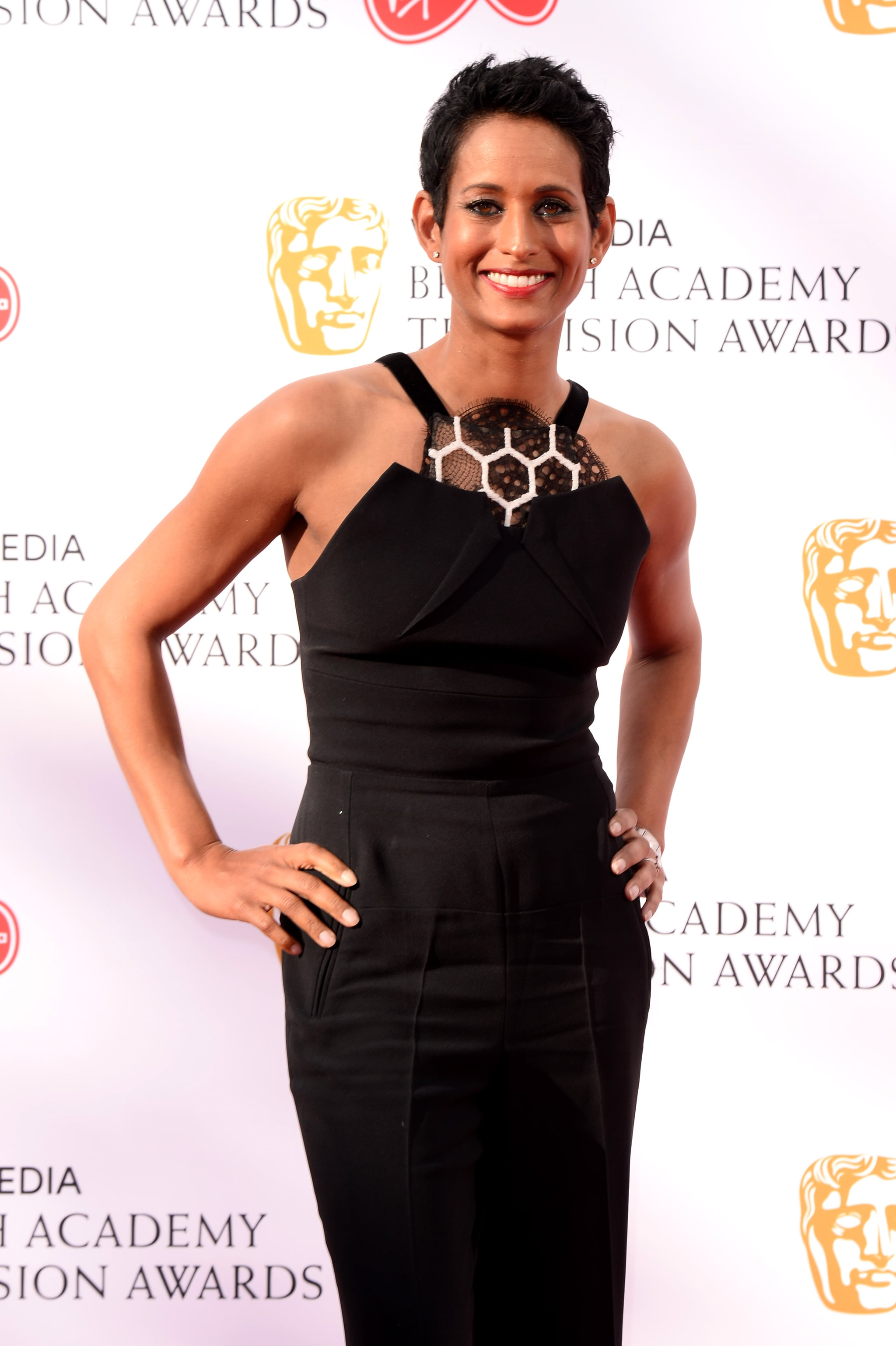 LONDON, ENGLAND - MAY 12: Naga Munchetty attends the Virgin Media British Academy Television Awards 2019 at The Royal Festival Hall on May 12, 2019 in London, England. (Photo by Jeff Spicer/Getty Images)