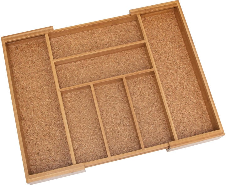 Lipper Expandable Flatware Organizer With Cork Lining ($33)