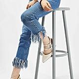 Topshop Moto Fringe Jeans