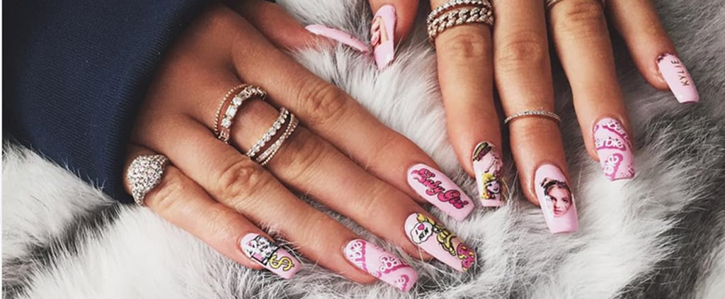 Whose Nails Are These —Khloé Kardashian's or Kylie Jenner's?