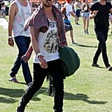 When He Was a Total Babe at Coachella