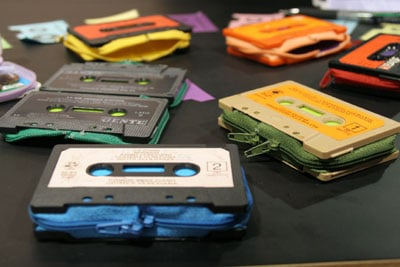 Cassette Wallets by Marcella Foschi