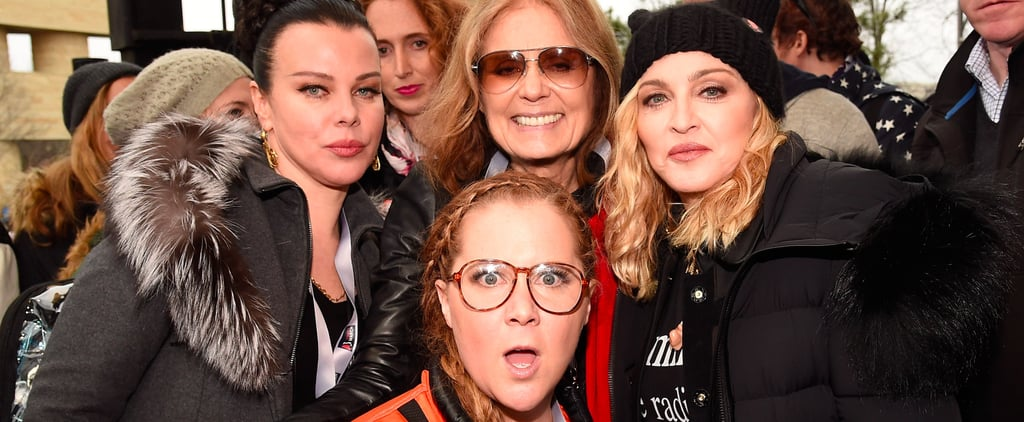 Girl Power: See All the Stars Who Attended the Women's Marches Across the Country