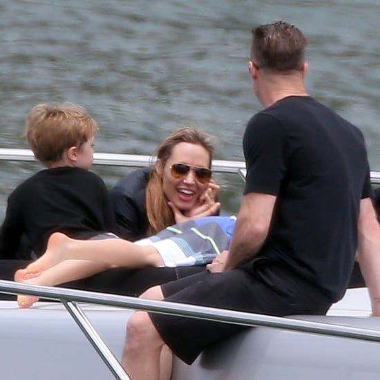 Brad Pitt and Angelina Jolie on a Yacht | Pictures
