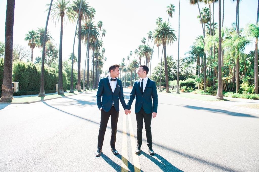 Beverly Hills Restaurant Wedding