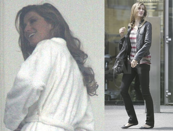 Gisele Reports to Work — in London