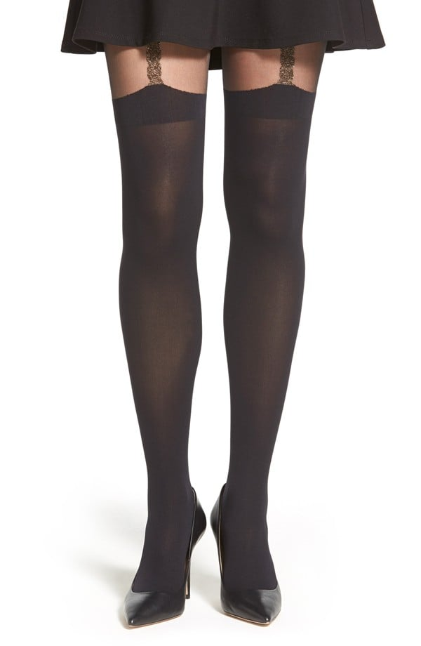 Pretty Polly Suspender Tights  ($25)