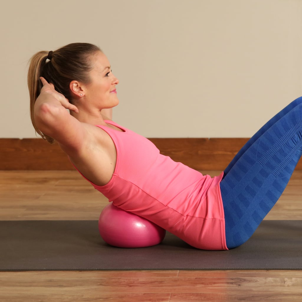 How to Use a Small Exercise Ball Effectively