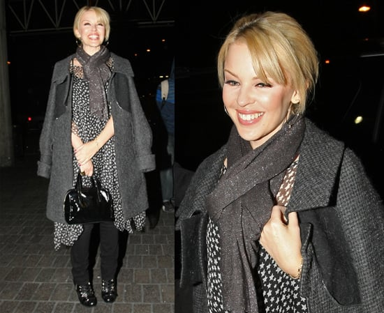Pop Poll on Kylie Minogue's Star-Patterned Outfit at LAX Airport