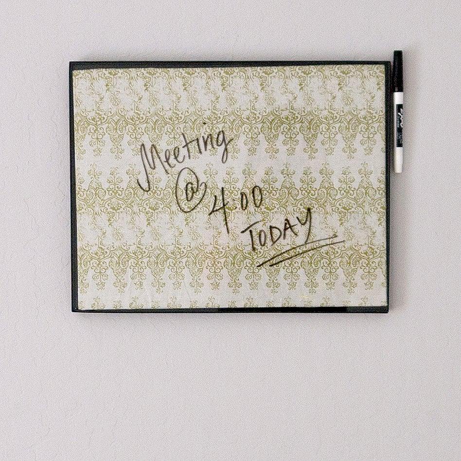 DIY Dry-Erase Board