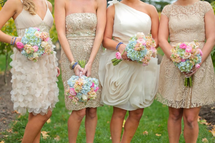 6 Unconventional Ways to Dress Your Bridesmaids