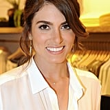 At the launch of 7 For All Mankind x Nikki Reed jewelry, the actress showed up looking casually beautiful with natural makeup and pulled-back strands.