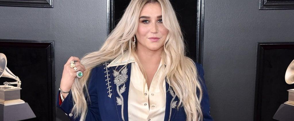 Kesha Suit Grammys 2018