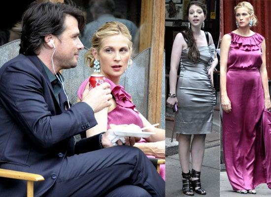 Michelle Trachtenberg, Matthew Settle and Kelly Rutherford Film Gossip Girl