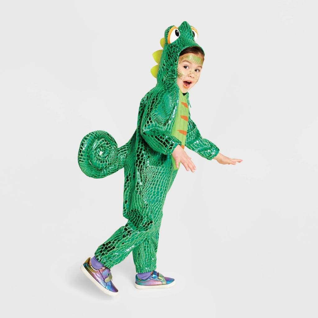Toddler Plush Chameleon Halloween Costume