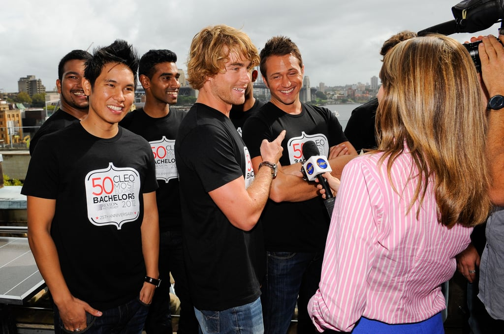 Andy Minh Trieu, Hayden Quinn and Matt Doran