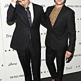 Zac Efron posed with writer and director Nicholas Jarecki at the Arbitrage premiere in NYC.