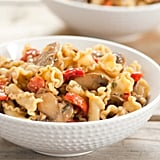 Get the recipe: pasta with roasted tomatoes and porcini sauce from Simple Weeknight Favorites