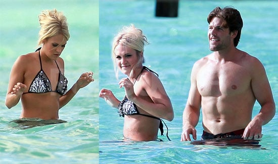 Pictures of Carrie Underwood in a Bikini With Her Shirtless Husband Mike Fisher in Tahiti