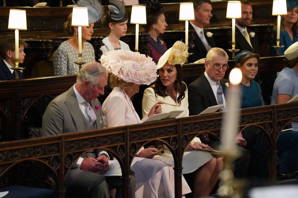 Duchess of Cambridge at Royal Wedding 2018