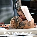 Justin Bieber and Hailey Baldwin PDA in Italy September 2018