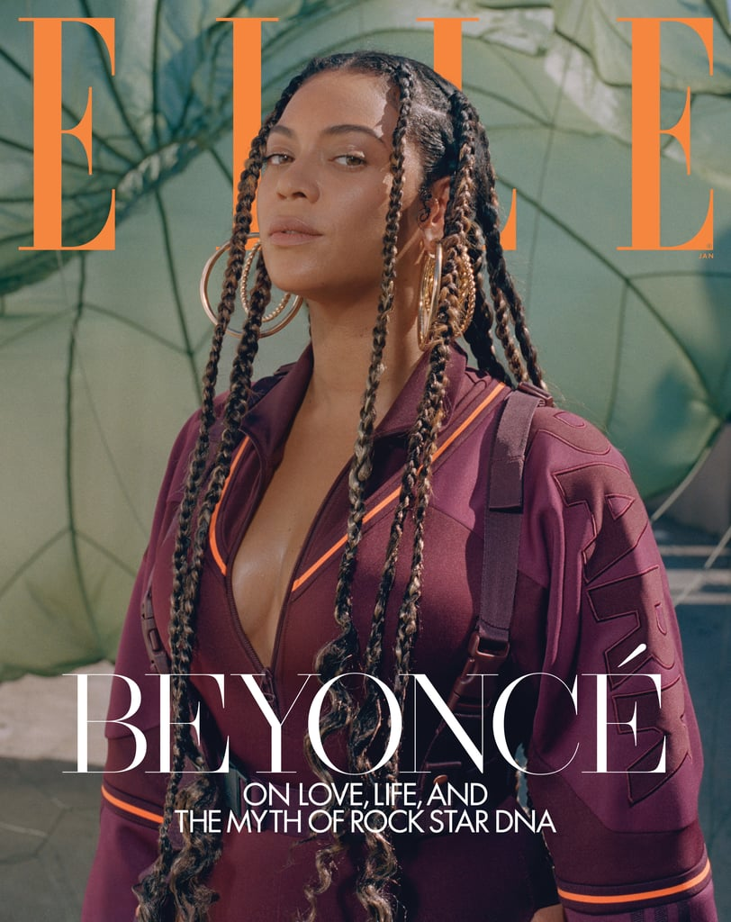 "Contrary to popular belief, Beyoncé is indeed human. Despite her status as a generation-defining artist, she is affected by the constant scrutiny . . . and then she handles it like you might imagine she would: ""In moments of vulnerability, I try to remind myself I'm strong and I'm built for this,"" Beyoncé said in a recent, wisdom-filled interview for Elle's January 2020 issue to tease her forthcoming Ivy Park collection with Adidas. Answering questions sourced from her fans, Beyoncé spoke about how she's stayed true to herself after over two decades in the industry. ""The predictable rock star DNA is a myth. I believe you don't have to accept dysfunction to be successful,"" she said. ""This is not to say that I have not struggled. I have the same pain that life brings to everyone else. I try to shift the stigma that says with fame there has to be drama."" ""You don't have to accept dysfunction to be successful."" On the topic of controlling her professional and personal narrative — which she is quite famous for — Beyoncé said, ""The more I mature, the more I understand my value. I realized I had to take control of my work and my legacy because I wanted to be able to speak directly to my fans in an honest way. I wanted my words and my art to come directly from me. There were things in my career that I did because I didn't understand that I could say no."" She added, ""We all have more power than we realize."" Though she certainly is powerful and successful, many of Beyoncé's fans feel as though she is often snubbed at major award shows. When asked about her critically acclaimed album Lemonade not winning in the four major categories at the 2017 Grammys, Beyoncé said, ""Success looks different to me now. I learned that all pain and loss is in fact a gift. Having miscarriages taught me that I had to mother myself before I could be a mother to someone else."" She added, ""Being 'number one' was no longer my priority. My true win is creating art and a legacy that will live far beyond me. That's fulfilling."" See photos of Beyoncé modeling a selection of her new Ivy Park designs in the Elle shoot ahead.      Related:                                                                                                           Beyoncé Has Enjoyed a Wildly Successful Year . . . Even by Beyoncé Standards"