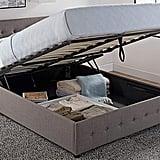 Cambridge Upholstered Linen Platform Bed