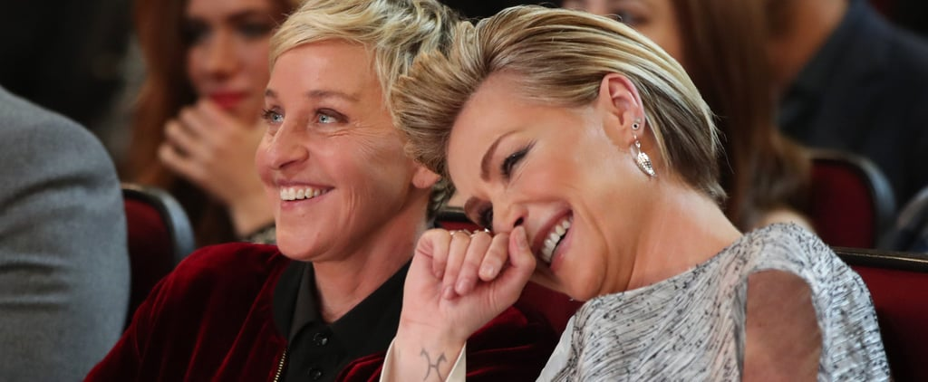 Ellen DeGeneres's 15th Anniversary Gift For Portia de Rossi