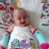 1 Pair of Socks Completely Changed the Quality of Life For a Baby Born With