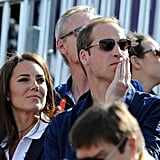 Royals at the Olympics Equestrian Event