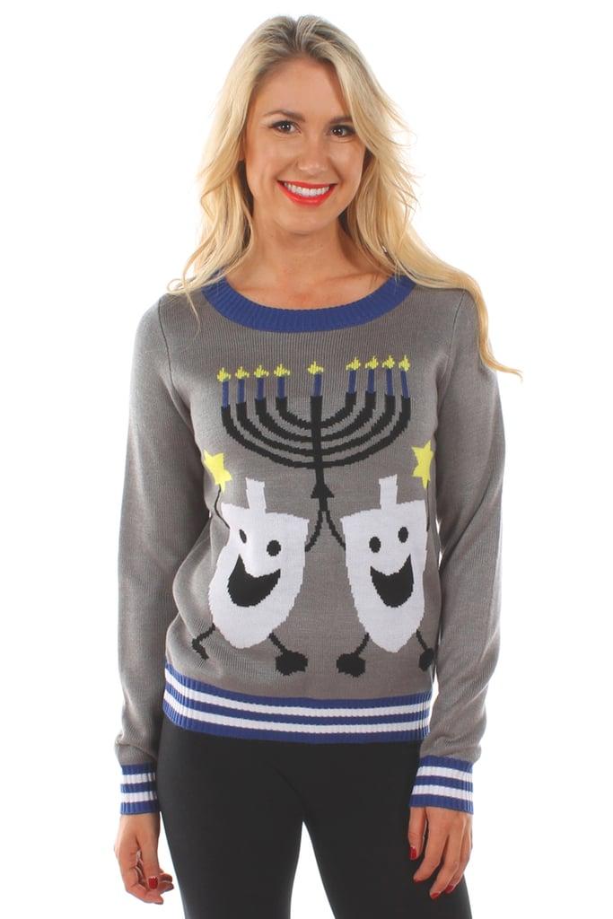 Hanukkah Ugly Christmas Sweater | Hanukkah Gift Ideas For Her ...