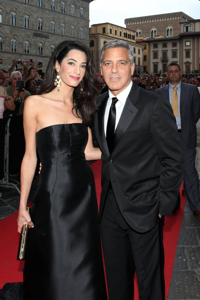 George Clooney and Amal Alamuddin on Red Carpet Pictures ...