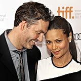 Thandie Newton and Ol Parker at the Toronto Film Festival, 2013