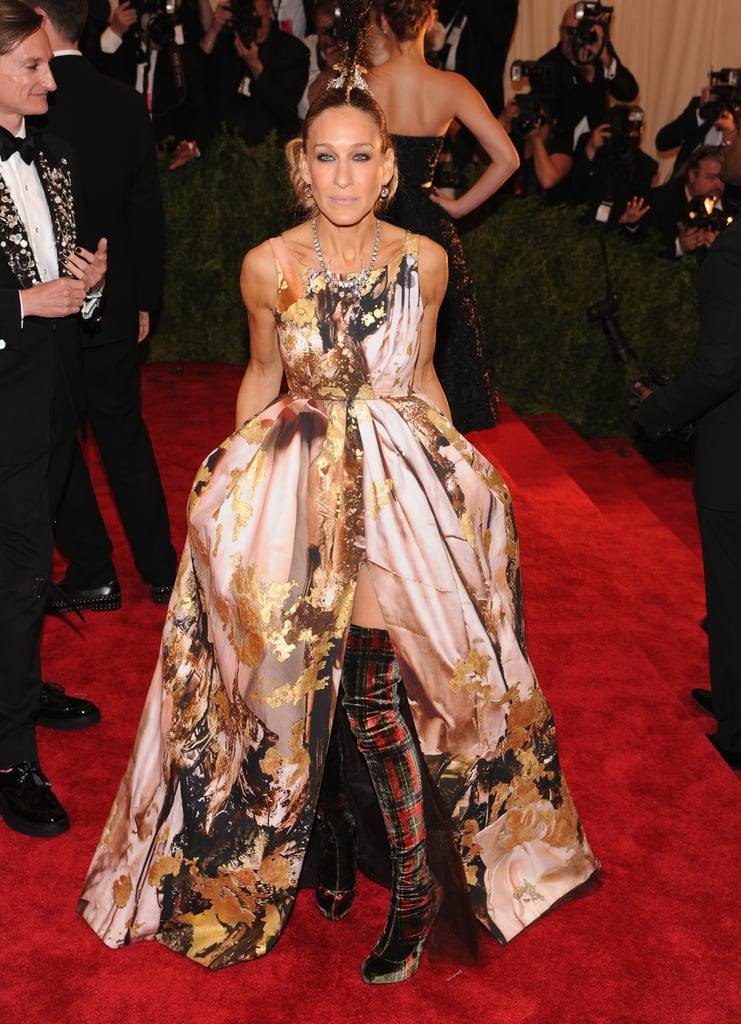 At The 2013 Met Gala Sarah Jessica Parker Had Her Most