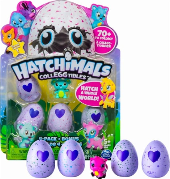 Hatchimals CollEGGtibles 4-Pack