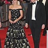 Kate Middleton Alexander McQueen Dress at BAFTA Awards 2017