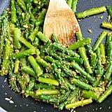Sautéed Asparagus with Garlic Breadcrumbs