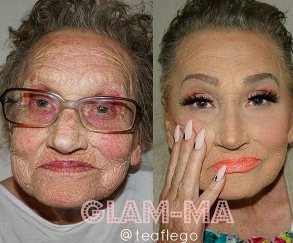 Contoured Grandma