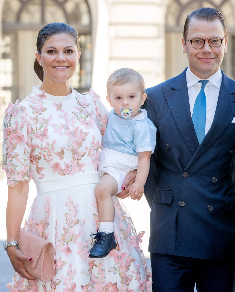 Princess Victoria of Sweden Wearing Butterfly Dress