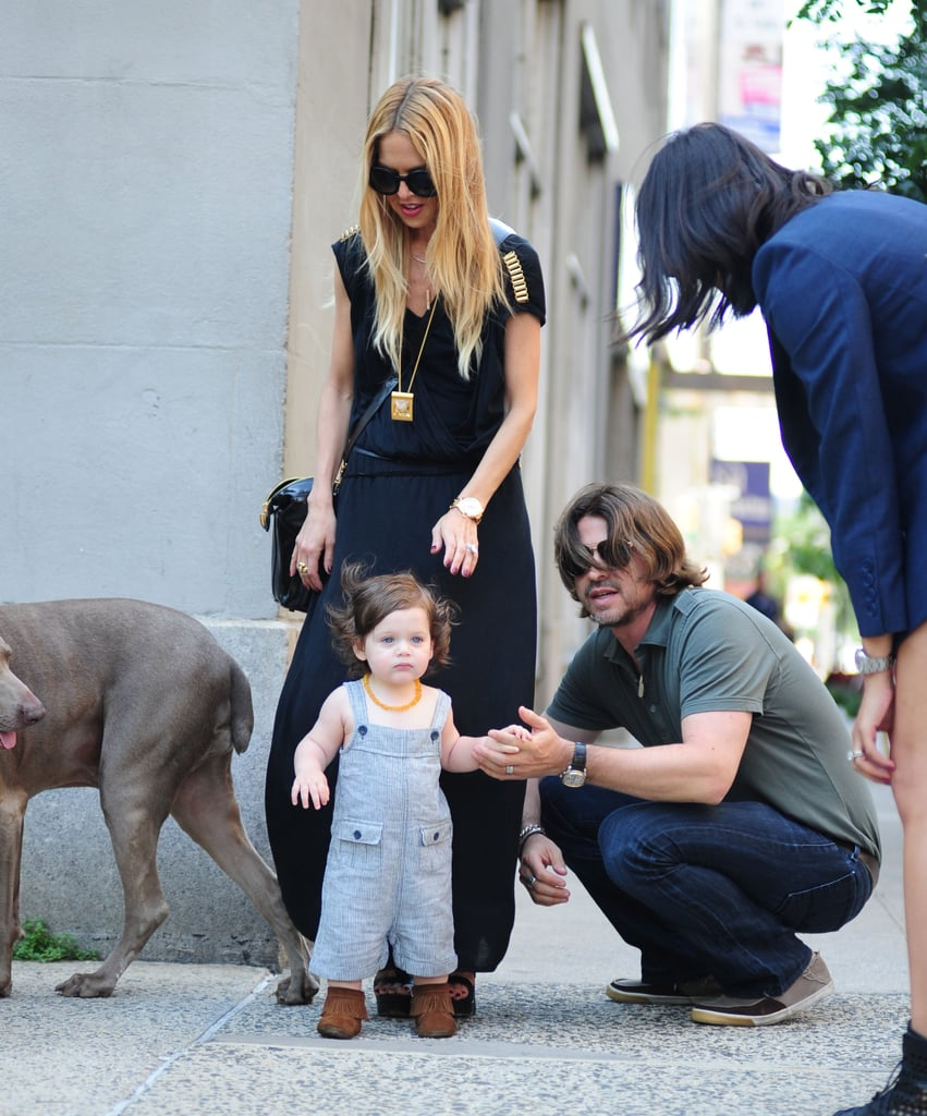 Rachel, Rodger, and Skyler Perfect Their Street Style in NYC