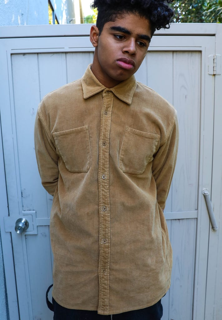 Drew House Chaz Corduroy LS Shirt in Camel ($148)