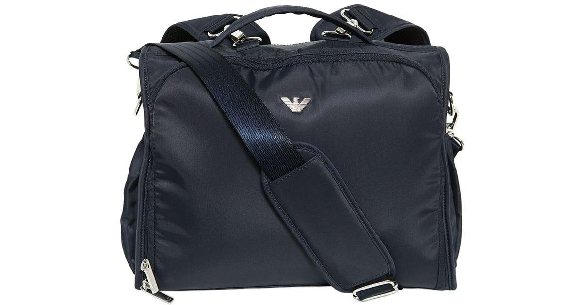 76fe302aaaf1 Armani Junior Nylon Changing Backpack