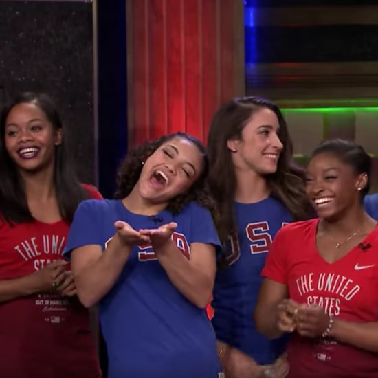 Simone Biles and Final Five Tonight Show Video 2016