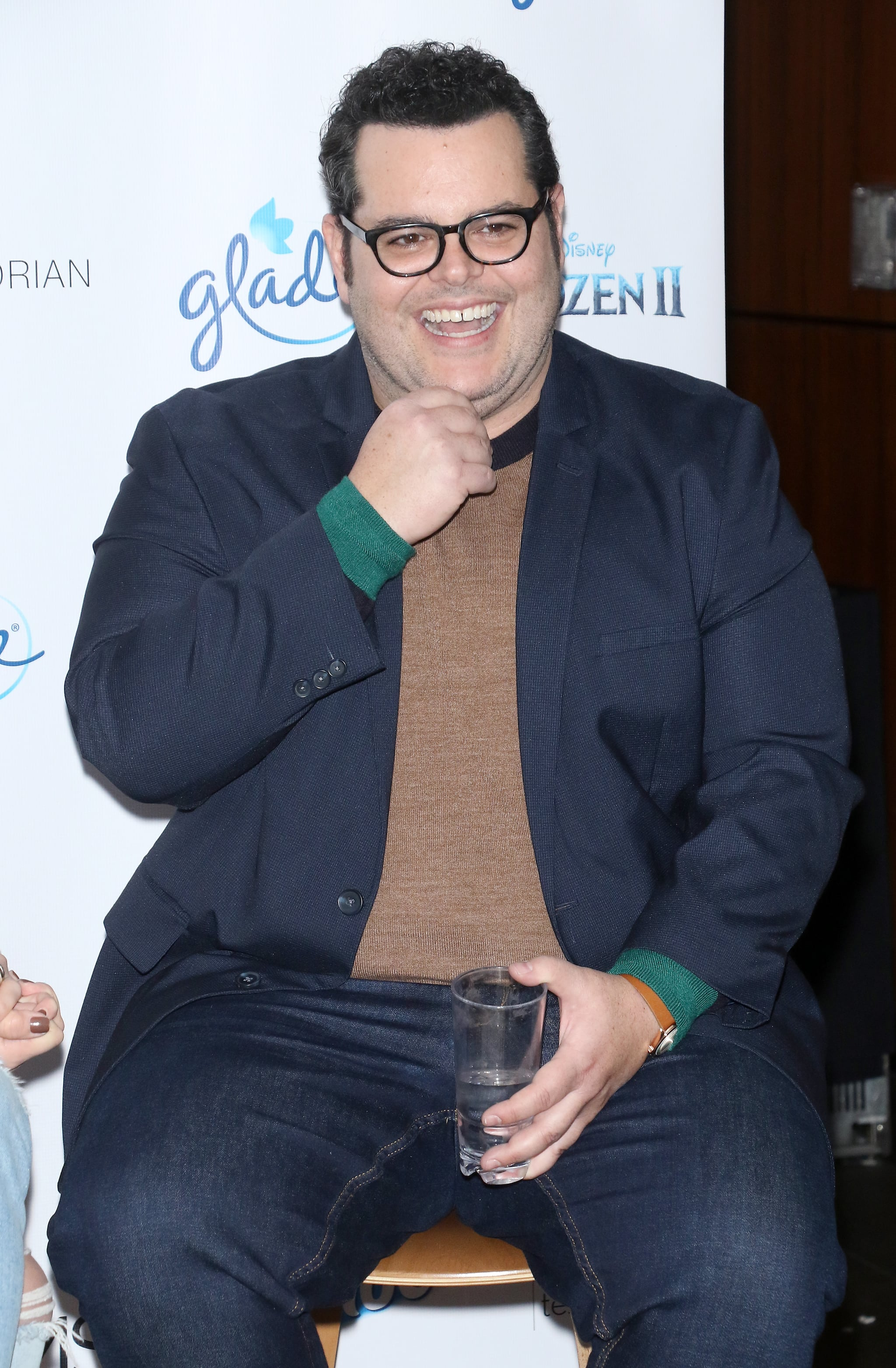 NEW YORK, NEW YORK - NOVEMBER 25: Actor Josh Gad attends The Moms celebration of