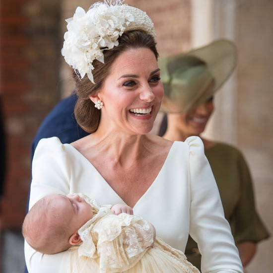 Kate Middleton Comments on Louis Sleeping at Christening