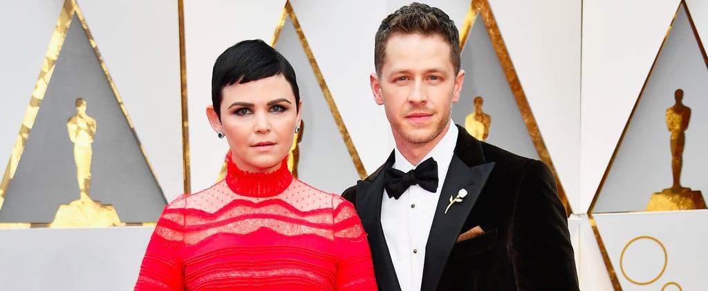 Josh Dallas and Ginnifer Goodwin at the 2017 Oscars
